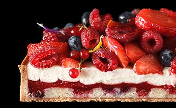 """Урок """"Тарт со свежими ягодами"""""""