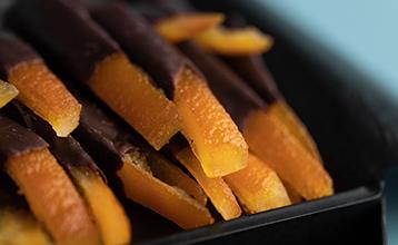 Цукаты из апельсина в шоколаде
